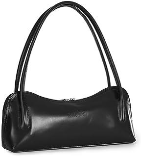 eaa2f17ba040 LIATALIA Womens Genuine Italian Leather Doctors Satchel Top Handle ...