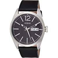 Guess Womens Quartz Watch, Analog Display and Leather Strap W0658G2