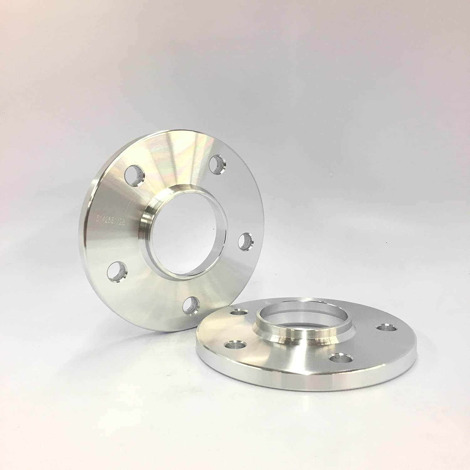 Customadeonly 2 Pieces 0.47 12mm Hub Centric Wheel Spacers Bolt Pattern 5x114.3 Thread Pitch 12x1.5 Center Bore 60.1mm Fits Lexus Toyota