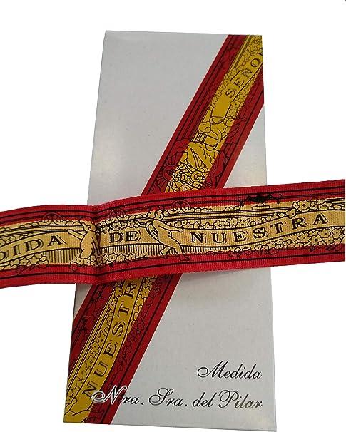 DRW Cinta Virgen del Pilar (Bandera de España): Amazon.es: Juguetes y juegos