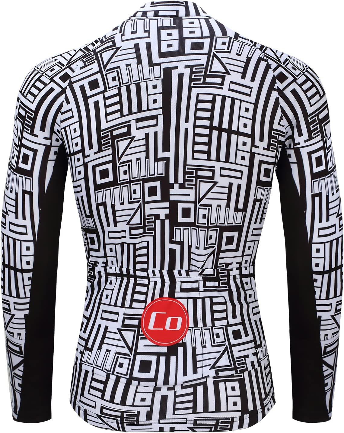 Coconut Ropamo Mens Long Sleeve Cycling Jersey Road Bike Shirt Bicycle Clothes Breathable and Quick Dry Cycle Tops MTB Shirt