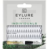 Eylure individual lashes, knot-free
