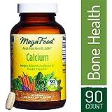 MegaFood - Calcium, Promotes Healthy, Strong Bones and Teeth, Vegan, Gluten-Free, Non-GMO, 90 Tablets (FFP)