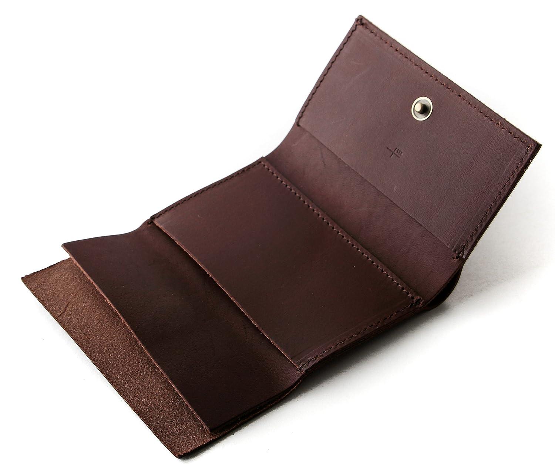 エムピウ ストラッチョ straccio コンパクト財布 三つ折り財布 リスシオ ブッテーロ 財布 m+ B06W5H117N タバコ タバコ