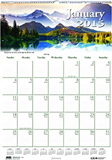 product image for House of Doolittle Earthscapes Scenic Wall Calendar 12 Months January 2015 to December 2015, 12 x 16.5 Inches, Color Photo, Recycled (HOD378)