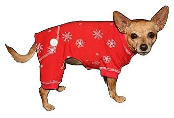 Big Dog XS XS WT Hip Doggie Green Snowflake Longjohns Sizes- XXS