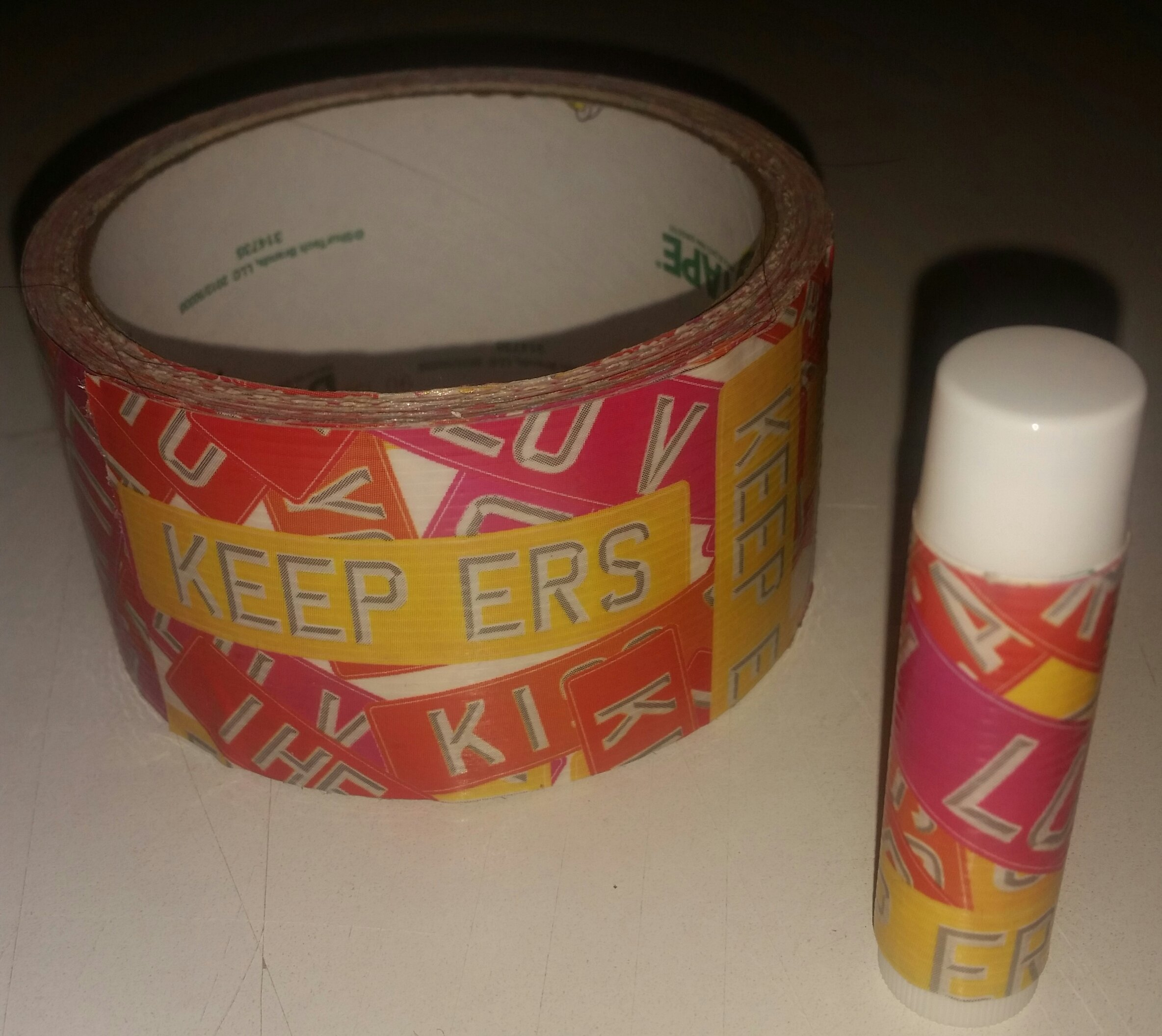 25 Love Signs Chap Stick Lip Balm twenty five pack pieces BULK