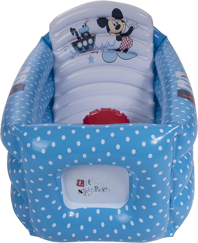 Plastimyr Mickey - Bañera hinchable, color marino: Amazon.es: Bebé