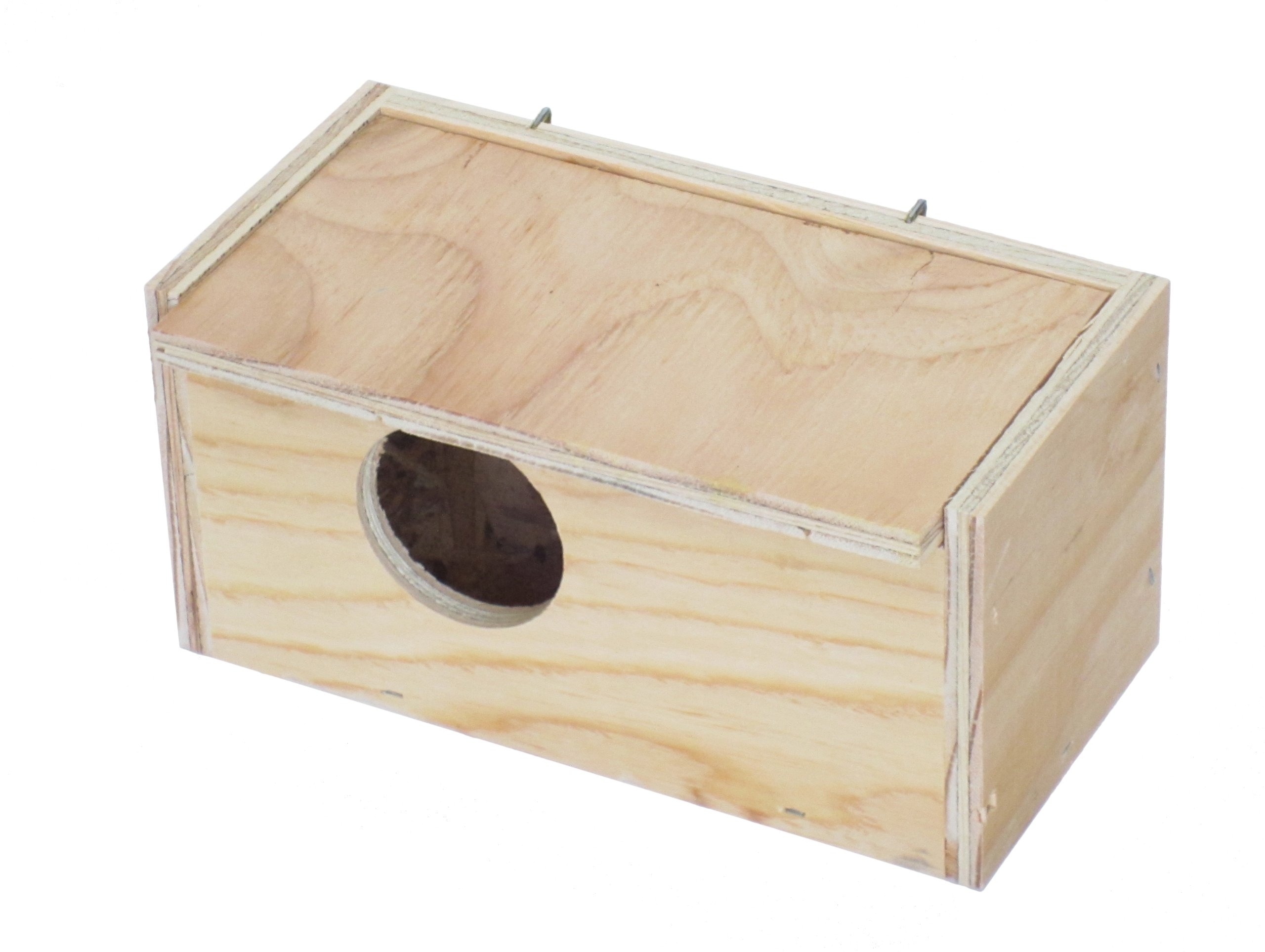 YML Assembled Wooden Nest Box for Inside Mount, Small by YML