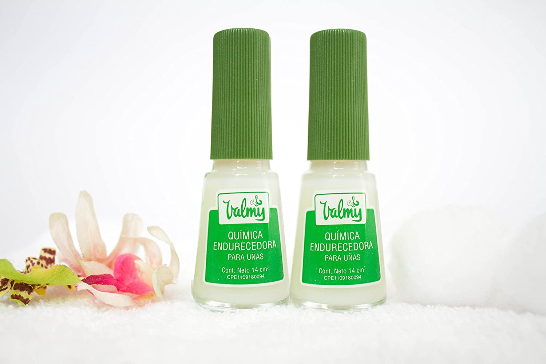 Amazon.com : Valmy Quimica Endurecedora Nail Hardener - Strengthener ...