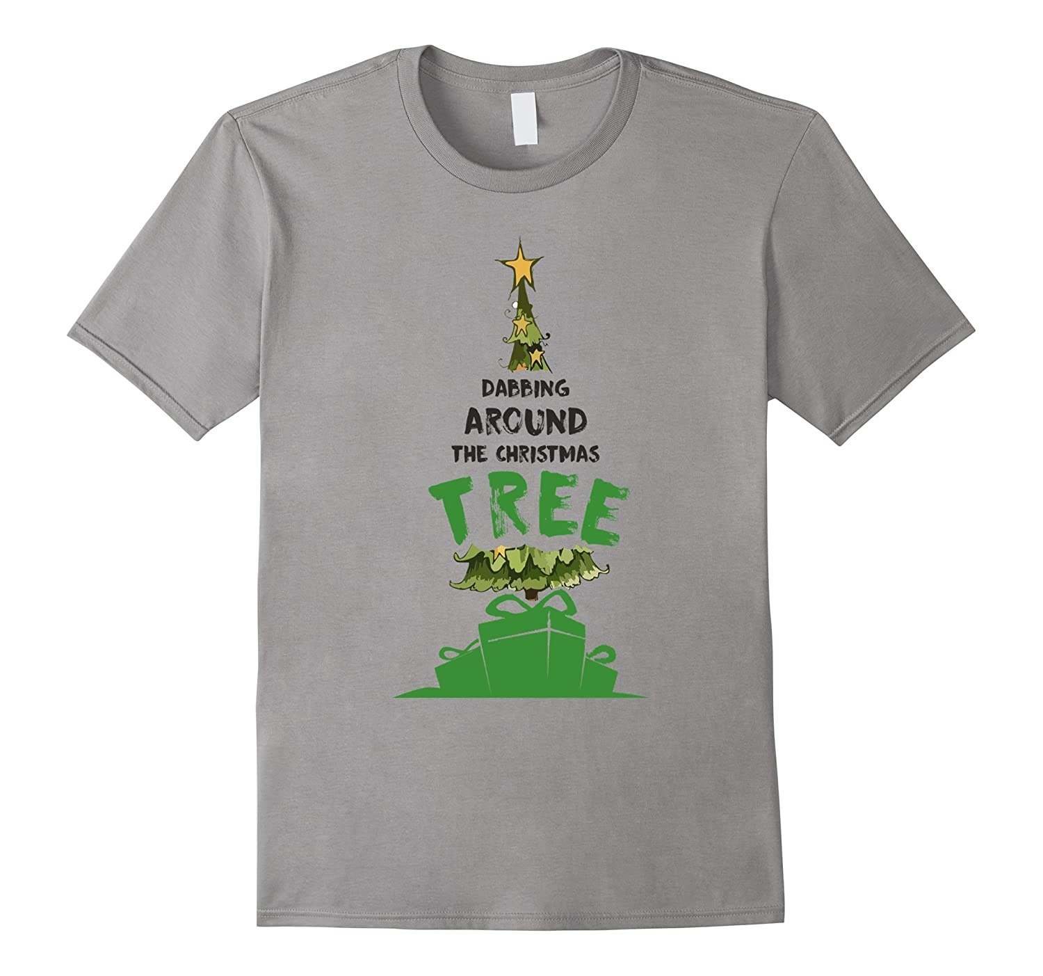 DABBING AROUND THE CHRISTMAS TREE CUTE Tulioct T-SHIRT-Art