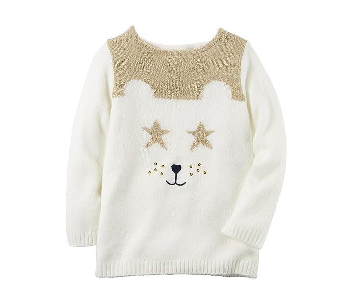 a21167042 Amazon.com  Carter s Girls  2T-8 Polar Bear Sweater 2T  Clothing