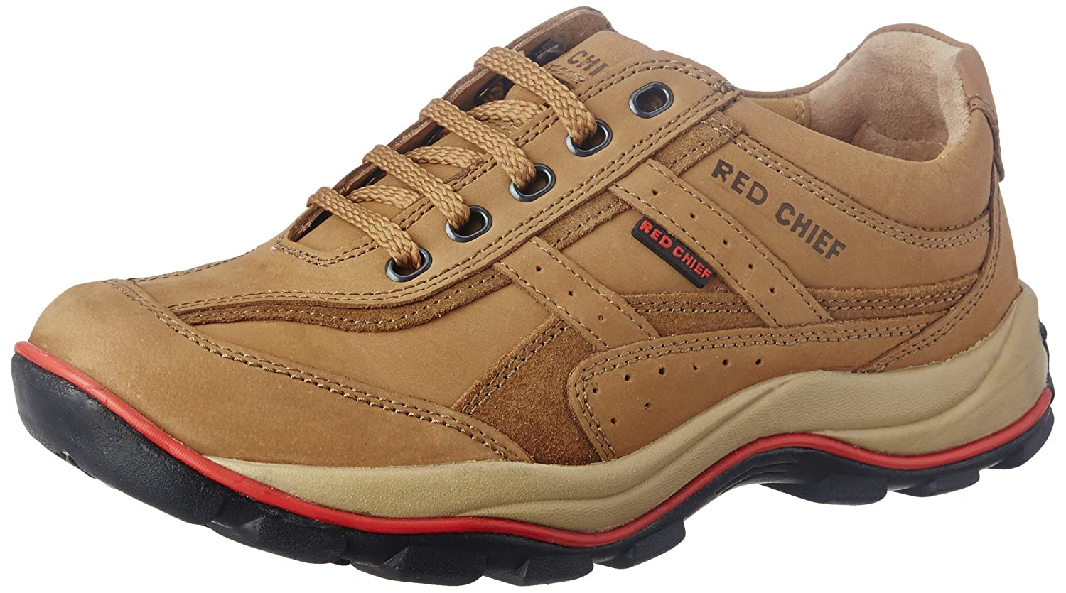 Red Chief Leather Casual Shoes for Men