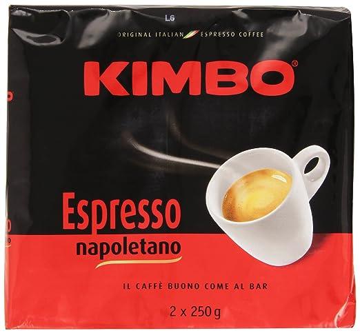 16 opinioni per Kimbo- Caffè Espresso Napoletano- 5 pezzi da 500 g [2500 g]