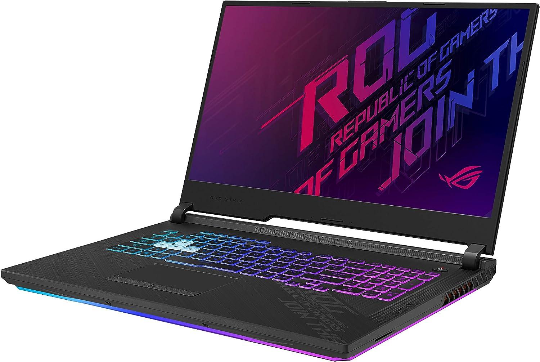 Amazon Com Asus Rog Strix G17 2020 Gaming Laptop 17 3 144hz Fhd Ips Type Display Nvidia Geforce Rtx 2070 Intel Core I7 10750h 16gb Ddr4 512gb Pcie Nvme Ssd Rgb Keyboard Windows 10 Black