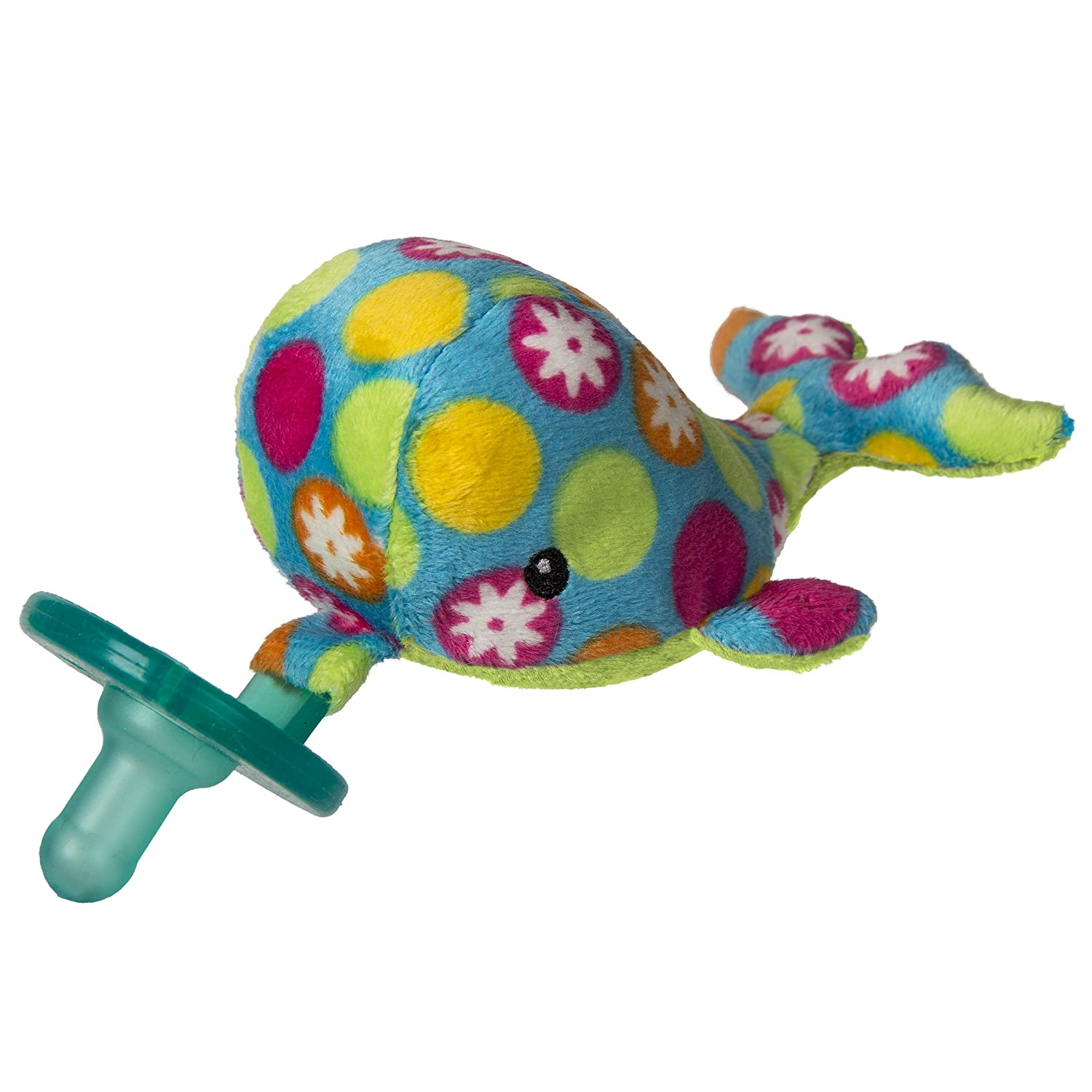 Wubbanub Soft Toy and Pacifier, Bubbly Whale 41940