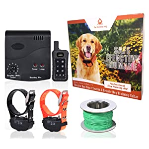 Wireless Combo Electric Dog Fence