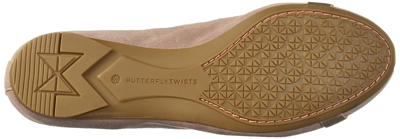 Butterfly , Twists , Butterfly Damen Ballerinas Beige beige 819e7b