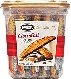 Nonni's Cioccolati Biscotti, Individually Wrapped 1.25oz (Pack of 25)