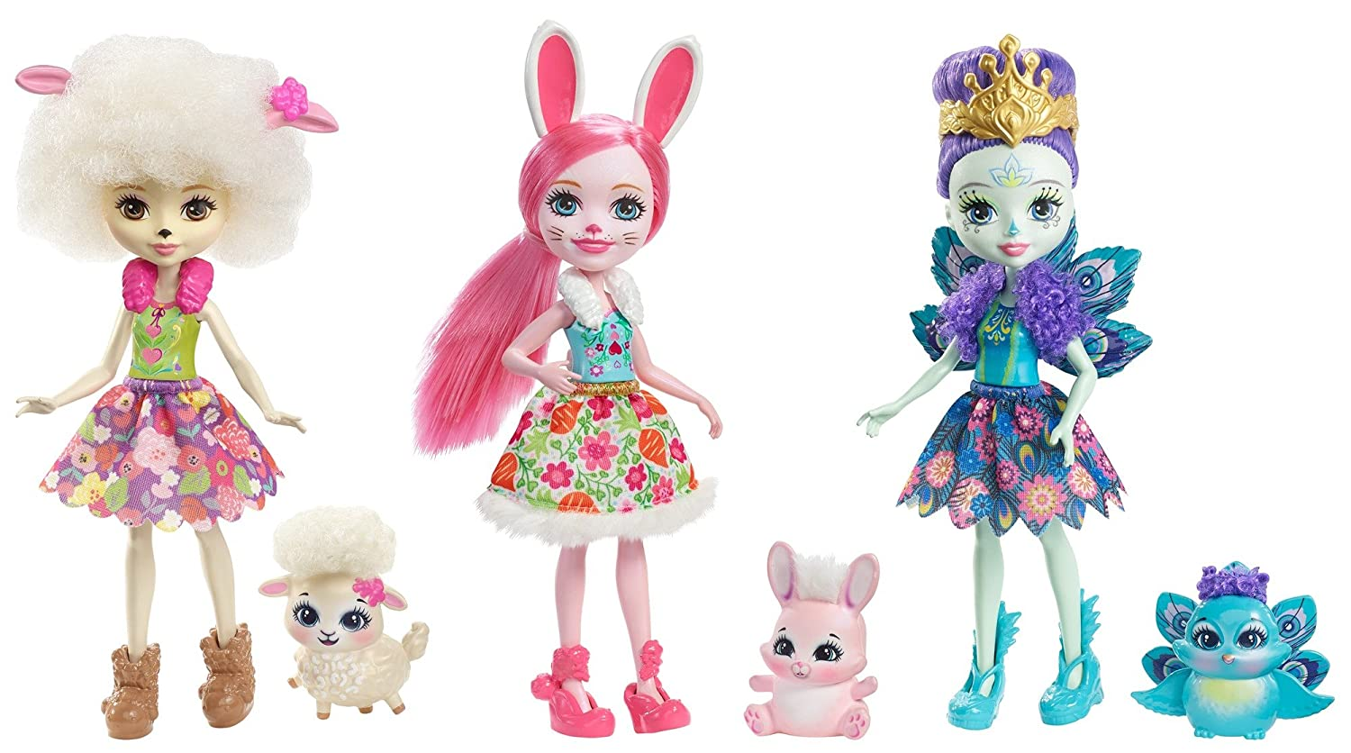 Enchantimals Pack de muñecas Mattel FMG