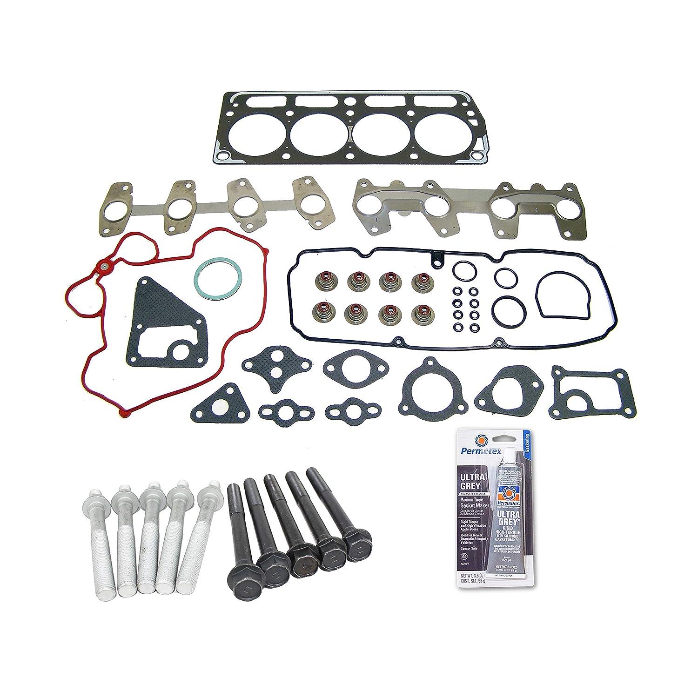 98-03 GMC Chevrolet Pontiac Isuzu 2.2L OHV 8v VORTEC Head Gasket Set Bolt Kit Fits