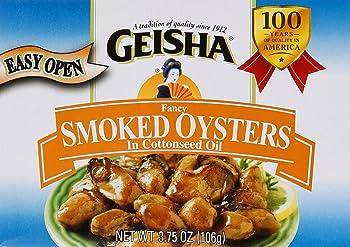 Geisha Fancy Smoked Oysters
