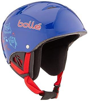 bollé B-Free Cascos, Unisex niños, Azul, 49-53 cm: Amazon.es ...