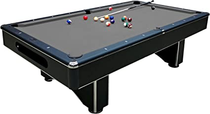 Harvil Galaxy Slate Pool Table 8 Foot With Grey Felt Includes On Site  Delivery