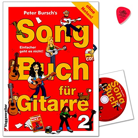 Peter bursch s Song libro para guitarra 2 – sin la fragancia ...
