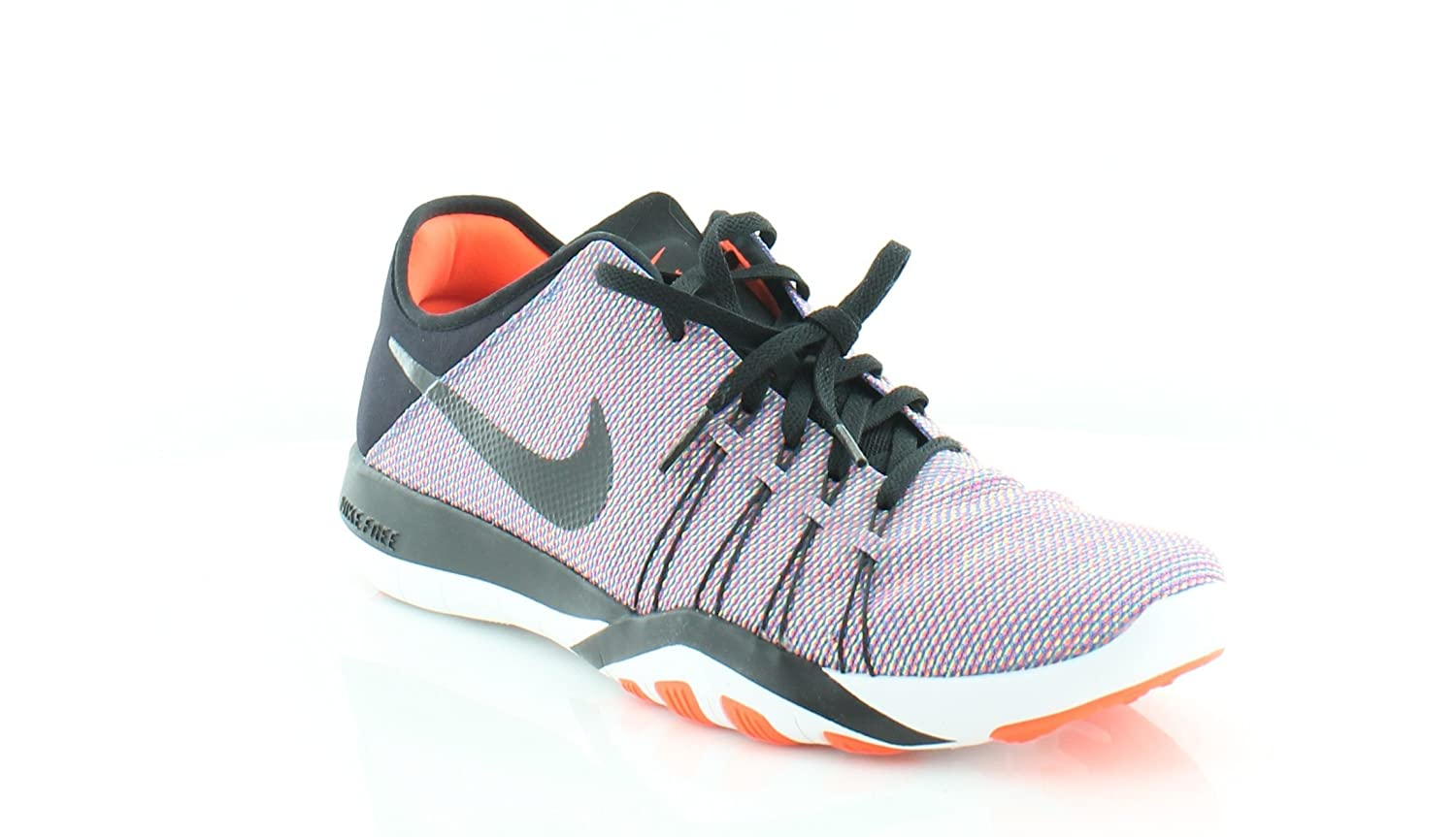 Womens Nike Free TR 6 Training Shoes B01FTKX0J8 8.5 B(M) US|Black / Total Crimson - White