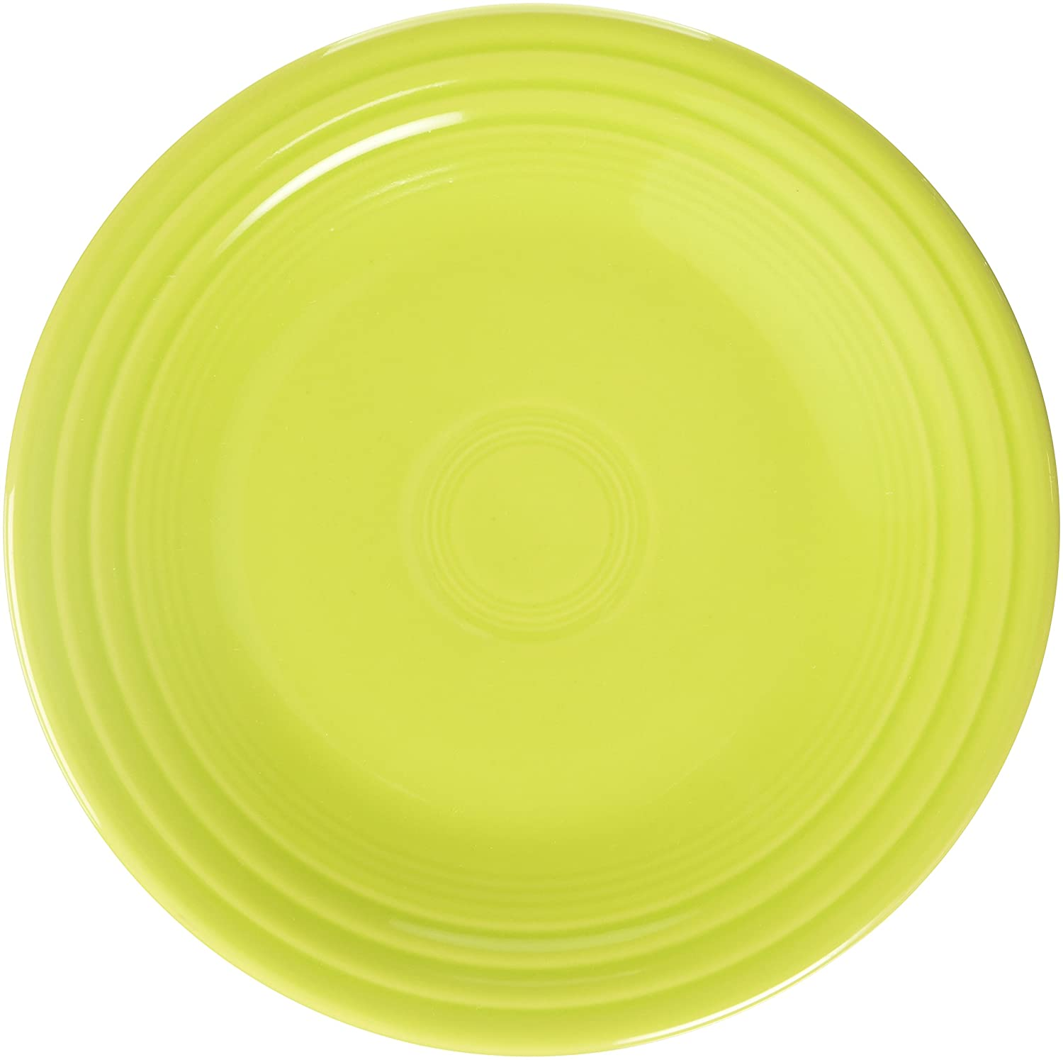 Fiesta 9-Inch Luncheon Plate, Lemongrass by Homer Laughlin