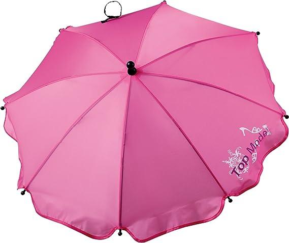 Hauck 558270 Top Model - Sombrilla para silla de paseo, color rosa: Amazon.es: Bebé