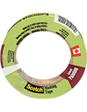 Scotch Masking Tape for Professional Painting, General, Green, 24 mm x 55 m, 1 Roll (2055PCW-24)