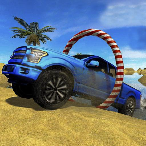 Crazy Prado Surfer - Driving Floating Water Car 3D 4x4 Jeep Beach Driving Racing Simulation Free Water Surfing Car Adventure Simulator Games For Kids ()