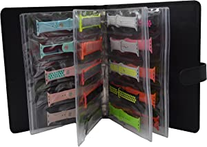 Bandkeeper Watchband Storage Binder Holds 20 Bands