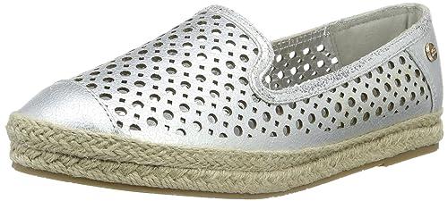 XTI45230 - Alpargata Mujer, Color Plateado, Talla 40: Amazon.es: Zapatos y complementos