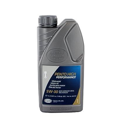 Amazon.com: Pentosin 8043107 Pento High Performance 5W-30 Synthetic Motor Oil - 1 Liter: Automotive