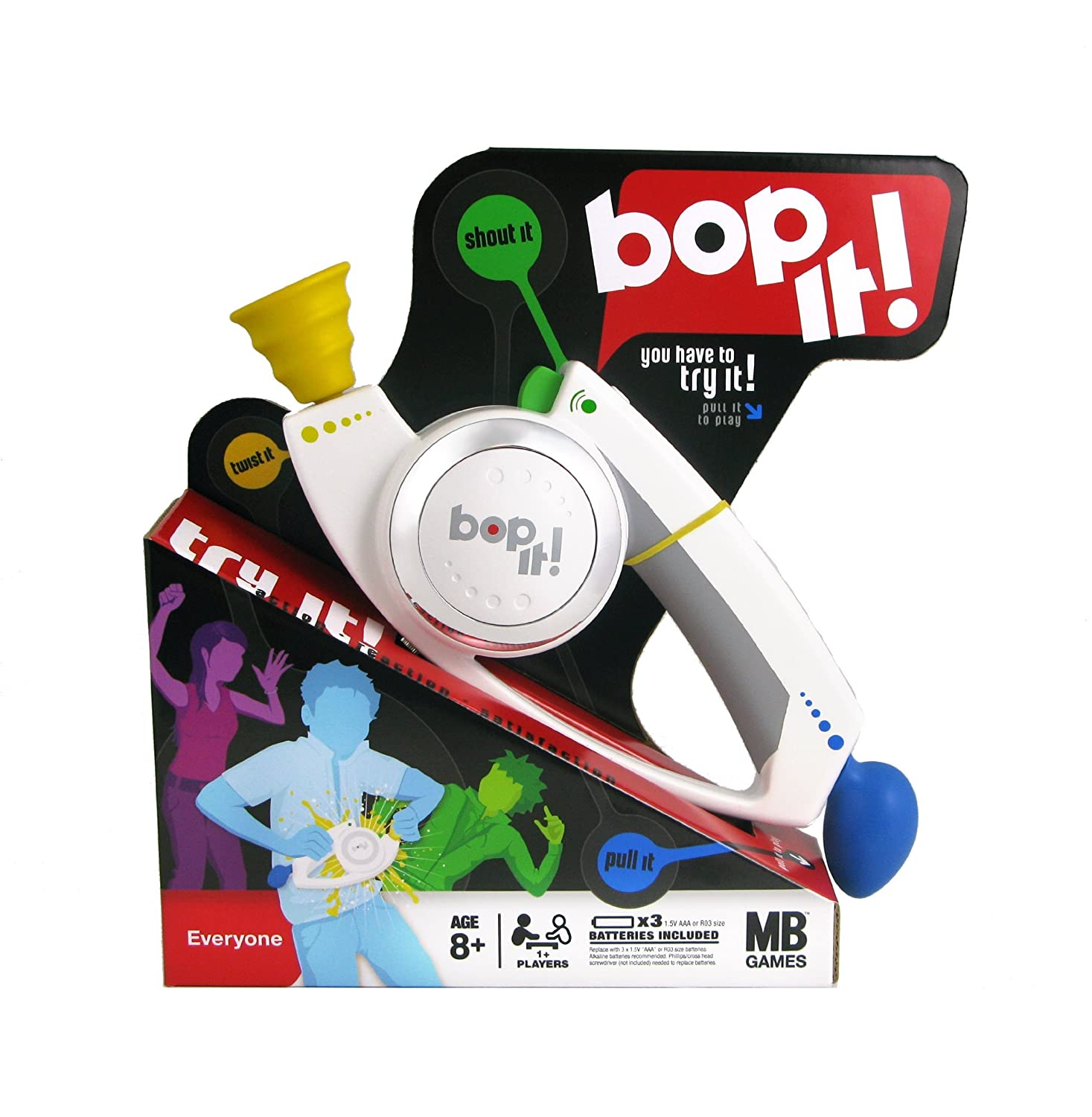 Amazon Com Hasbro Bop It Toys Games
