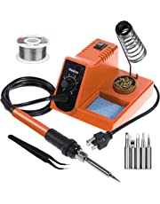 Vastar Soldering Iron Station - Anti-Static Soldering Iron Station Kit with On-Off Switch Temperature Adjustable