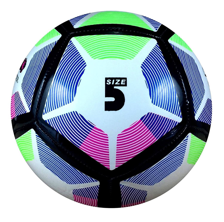 Premier League 2018 - Balón de fútbol (talla 5), White Premier ...