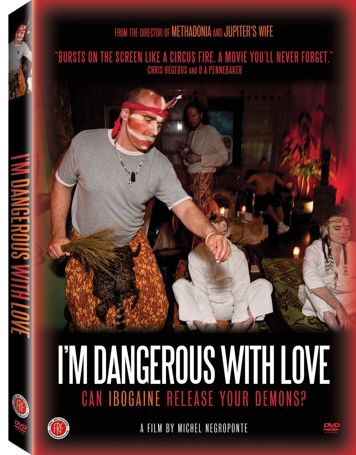 DVD : Michel Negroponte - I'm Dangerous With Love (Full Frame)
