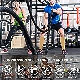 8 Pack Knee High Compression Socks For Men