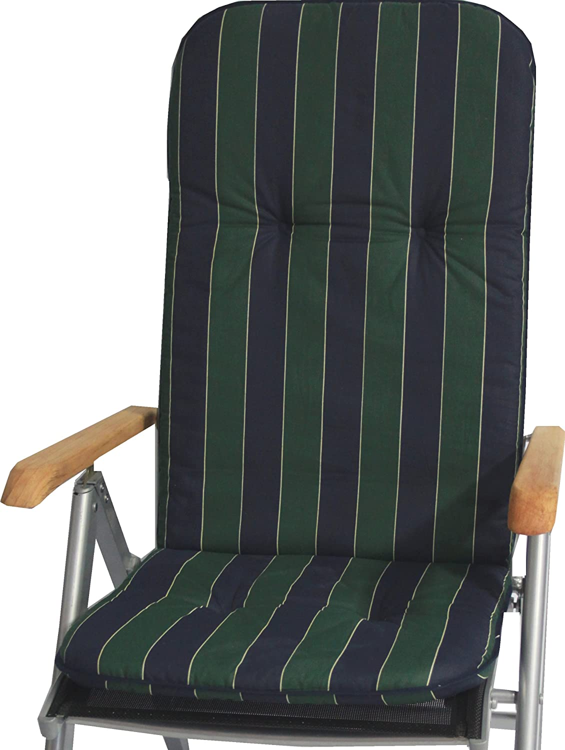 beo MS06 Catania HL piping pad for chair, circa 47 x 116 cm, approximately 5 cm thick Gartenstuhl-Kissen