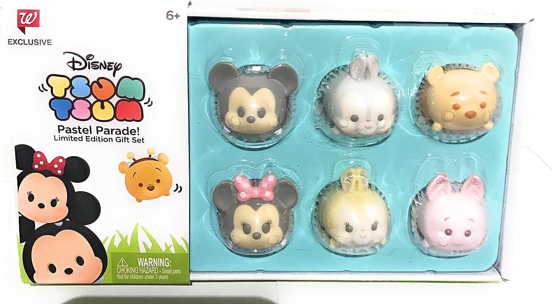 Disney Tsum Tsum Pastel Parade Exclusive Set of 6
