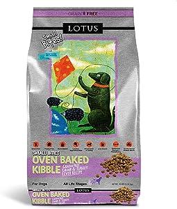 Lotus Small Bite Lamb and Turkey Liver Dog Food 10lb