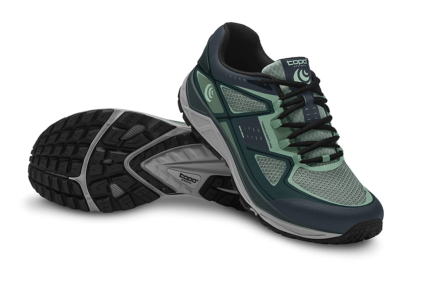 Topo Athletic Terraventure Running Shoe - Women's B01LY1HA7A 9.5 B(M) US|Teal/Mint