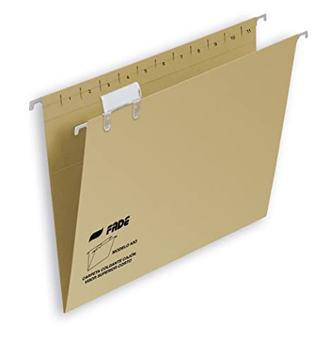 Elba Fade Kio 400064819 - Caja de 50 carpetas colgantes para cajón, Fº