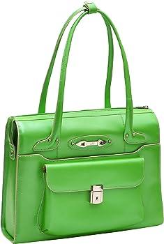 McKlein USA WenonahWomens Leather Laptop Briefcase