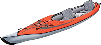 Advanced Elements ae1007-r AdvancedFrame Convertible inflable Kayak