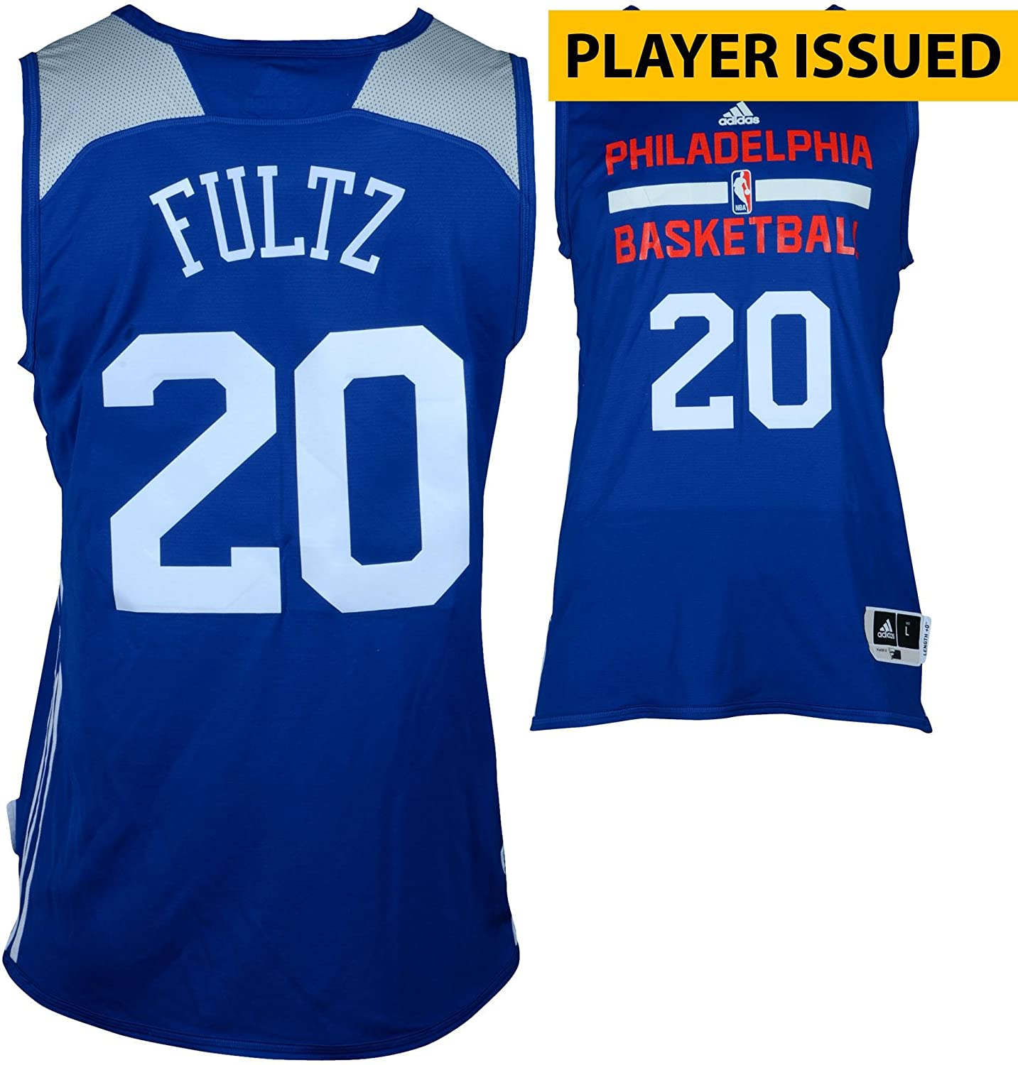 c8f43a7f105 Markelle Fultz Philadelphia 76ers Player-Issued  20 Reversible Jersey from  the 2017 NBA Summer League - Size L - Fanatics Authentic Certified at  Amazon s ...